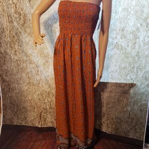 Angie beautiful long dress ,beautiful  color,small